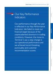 Our Key Performance Indicators (36kb pdf) - British Airways