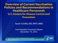 vaccine - Viral Hepatitis Prevention Board