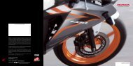 CBR125R (PDF, 1 MB) - Honda