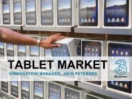TABLET MARKET - Media on the Move