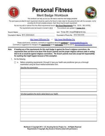 Personal Fitness Class Workbook (Adobe-PDF) - RTPnet