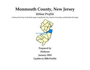 Urban Profile - Monmouth County