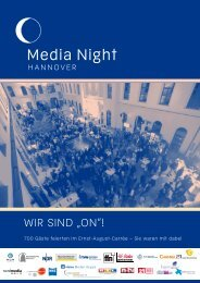 "Wir sind ""on""! - Media Night Hannover 2012"