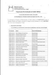 Mestrado: Inscrições Deferidas - Fiocruz