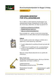uddannelseskrav for stilladsarbejde - BAR Bygge & Anlæg