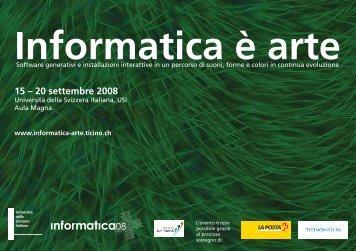 Informatica è arte - Ticino