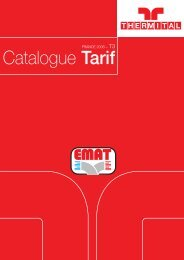 Catalogue Tarif - EMAT