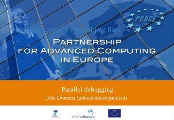 Parallel Debugging - Prace Training Portal