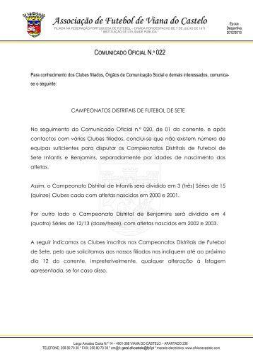 Associação de Futebol de Viana do Castelo - AF Viana do Castelo