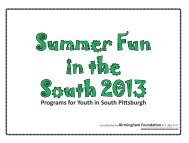 Summer Fun in the South - Foundation Center