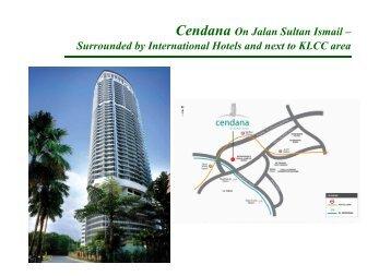 Cendana On Jalan Sultan Ismail – S d d b I t ti l H t l d t t KLCC ...