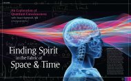 Finding Spirit in the Fabric of Space & Time - Quantum ...