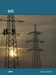 2006 Letno poročilo - Eles