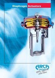 Diaphragm Actuators - Arca-Regler GmbH