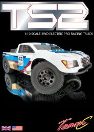 1:10 SCALE 2WD ELECTRIC PRO RACING TRUCK - Absima