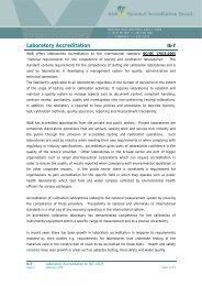 IS7 Laboratory Accreditation Information Sheet (PDF, 2 ... - INAB