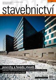 povrchy a fasády staveb - Časopis stavebnictví