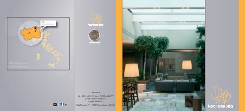 Brochure Parc Hotel Billia - Event Report