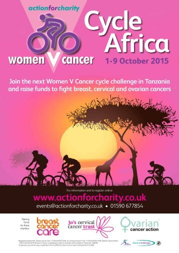 Women V Cancer Cycle Africa
