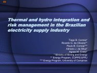 Energy contracting in Brazil and electricity prices - United States ...
