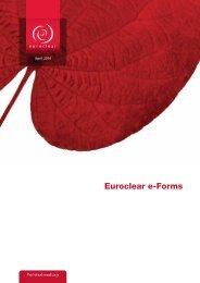 Euroclear e-forms