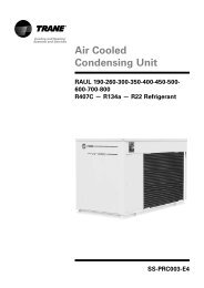 Air Cooled Condensing Unit - Dalkia