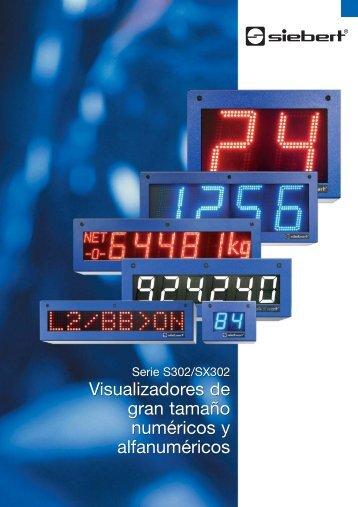 Visualizadores de gran tamaño numéricos y alfanuméricos ...
