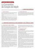 CONDITIONS GÉNÉRALES APPLICABLES AUX COMPTES ... - BPE - Page 5