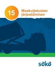 Maakuljetusten 15 järjestäminen - Kymenlaakson ammattikorkeakoulu