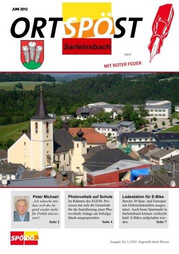 Link zum Öffnen und Lesen der Zeitung - SP Bezirk Rohrbach - SPÖ
