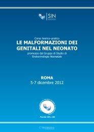 programma preliminare corso SIN_programma - Biomedia online