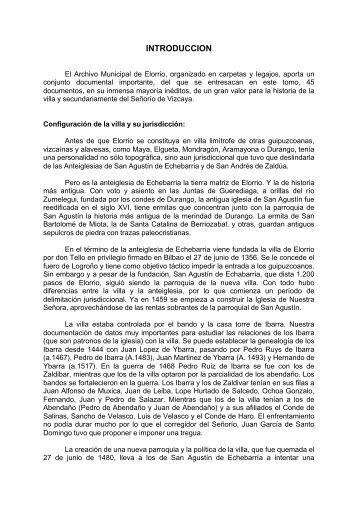 Colección Documental del Archivo Municipal de Elorrio (1013-1519 ...