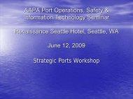 Strategic Ports Workshop