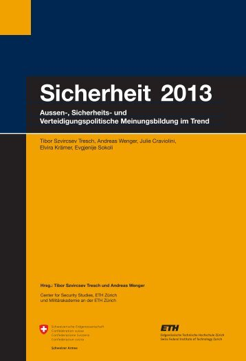 Sicherheit 2013 (pdf) - Center for Security Studies (CSS) - ETH Zürich