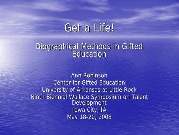 Ann Robinson - Templetonfellows.org