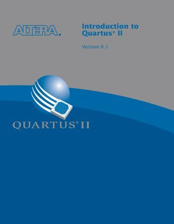 Introduction to Quartus® II