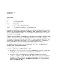 Establishing 2012 Employee Performance Appraisal Plan - the USGS