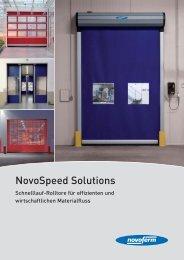 NovoSpeed Solutions - Novoferm