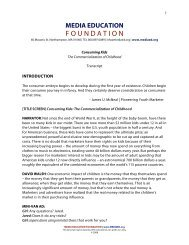 Transcript - Media Education Foundation
