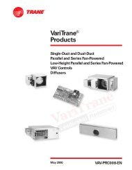 Products Single Duct/Dual Duct Units, Variable-Air-Volume ... on