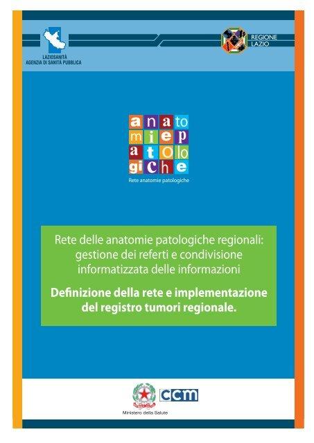 Sintesi del Progetto - Agenzia di Sanità Pubblica della Regione Lazio