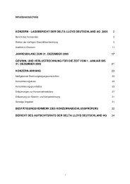 Konzernbericht 2005 - Delta Lloyd