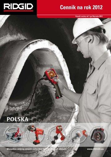 Cennik na rok 2012 - Luna Polska