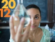 2012 Annual Report - The Steppingstone Foundation