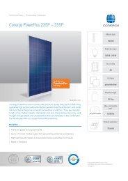 Conergy PowerPlus 235-255 P [PDF] - SOLARKAUF