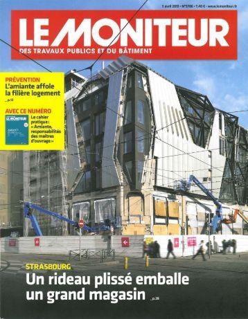 Le Moniteur - Biecher Architectes