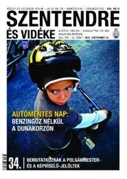 34. szám . 2010. szeptember 24. - Szentendrei Hírek