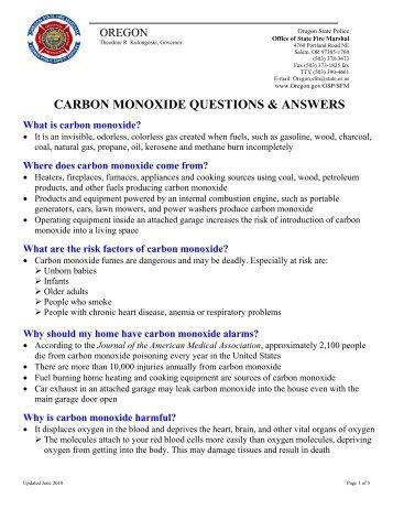 Carbon Monoxide - Crestview Home Inspections
