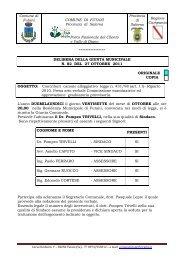 Contributi canone alloggiativo legge n. 431/98 - Comune di Futani