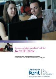 Kent IT Clinic - University of Kent
